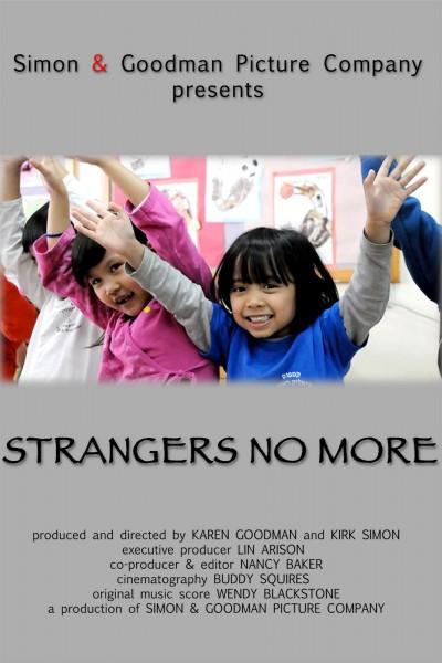 Strangers No More movie font