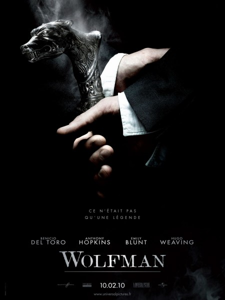 The Wolfman movie font