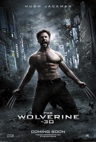 The Wolverine movie font