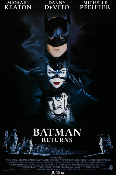 Batman Returns movie font