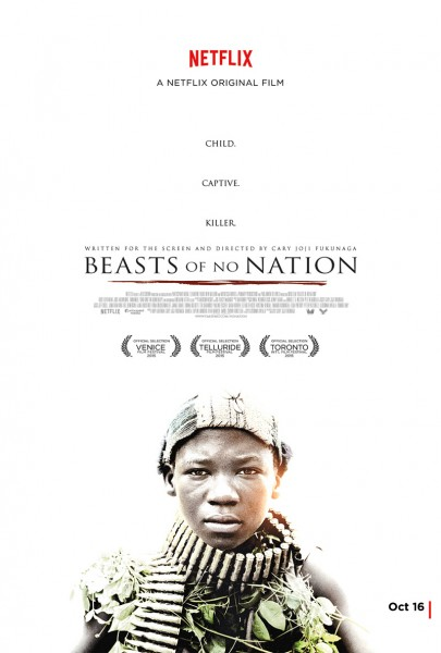 Beasts of No Nation movie font