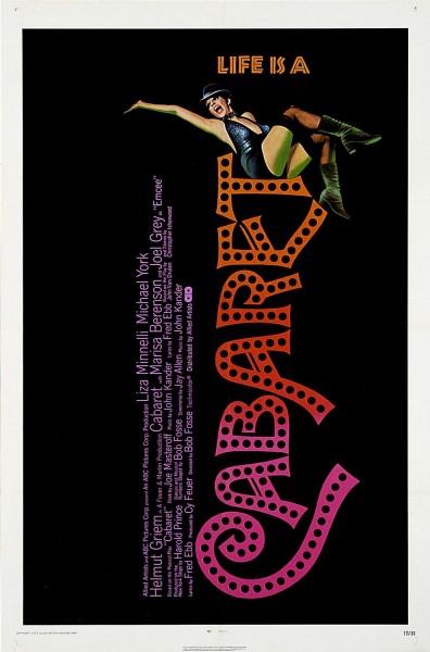 Cabaret movie font