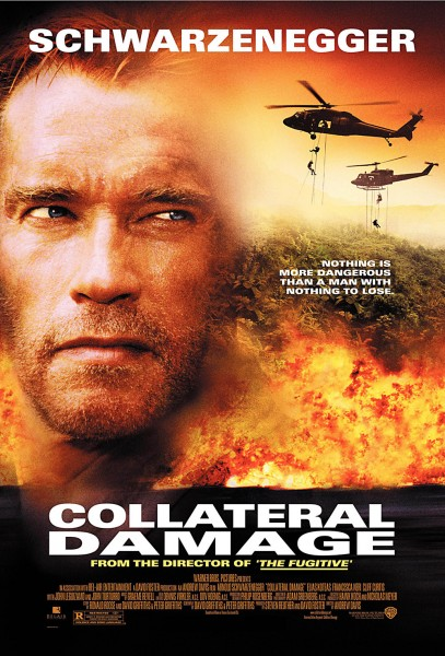 Collateral Damage movie font