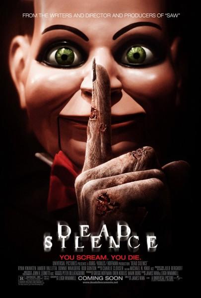 Dead Silence movie font
