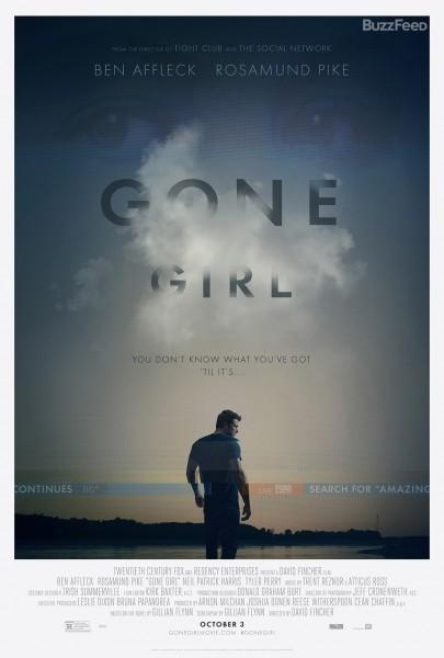 Gone Girl movie font