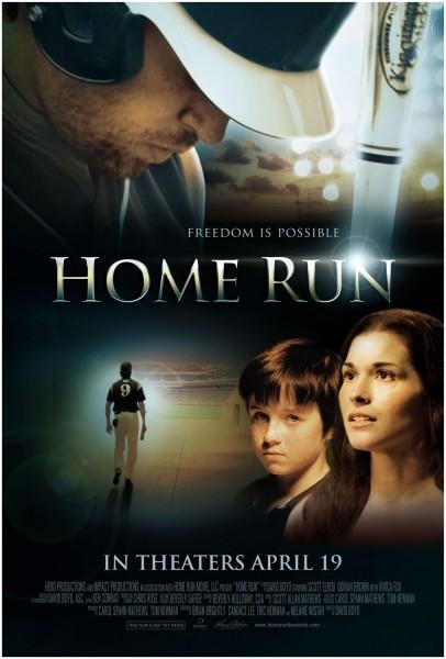 Home Run movie font
