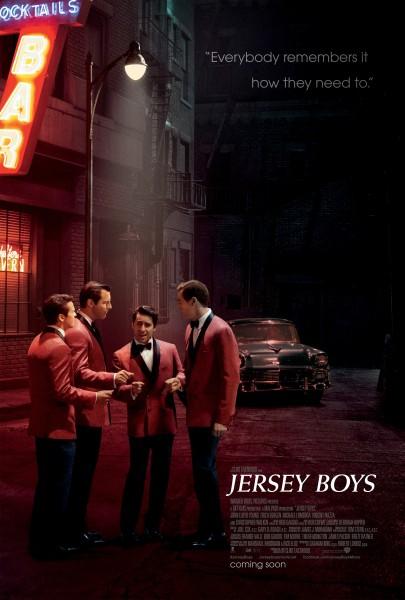 Jersey Boys movie font