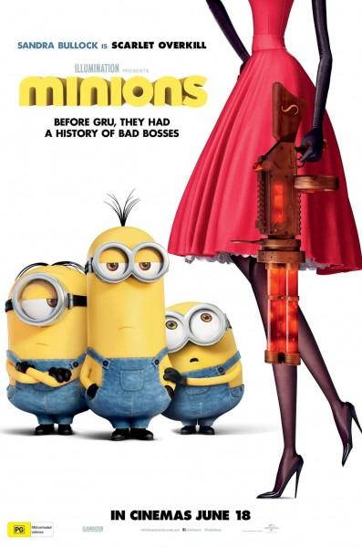 Minions movie font