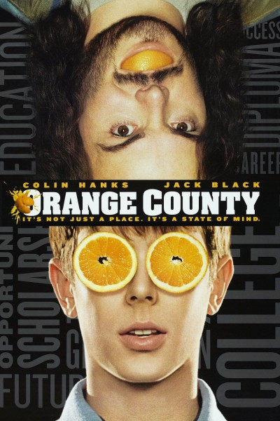 Orange County movie font