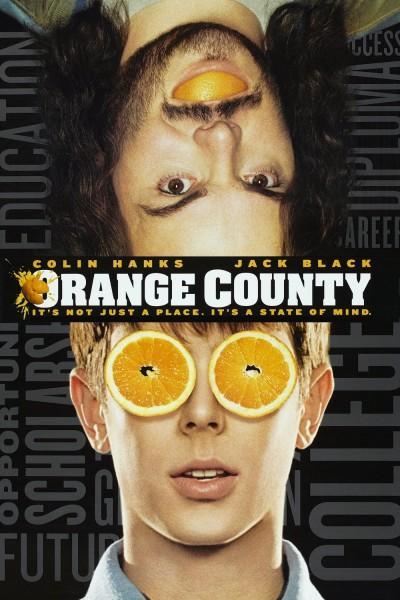 Orange County movie font