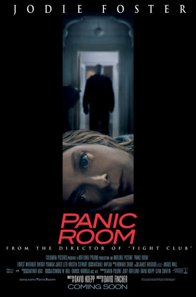 Panic Room movie font