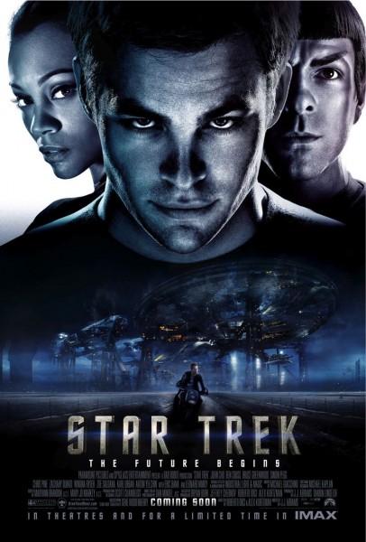 Star Trek movie font
