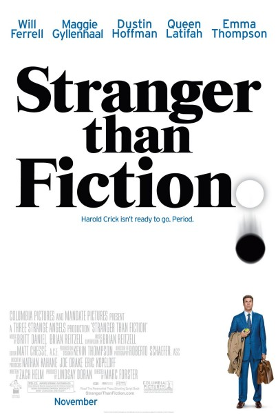 Stranger Than Fiction movie font