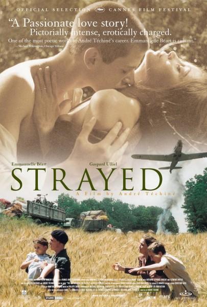 Strayed movie font