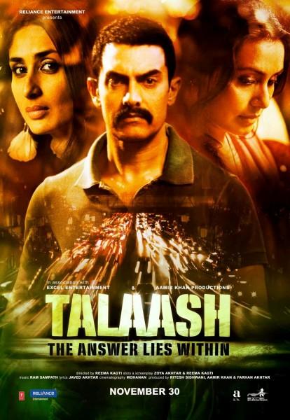 Talaash movie font