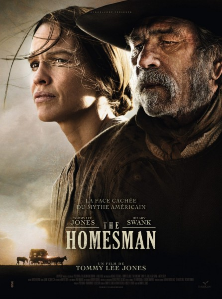 The Homesman movie font