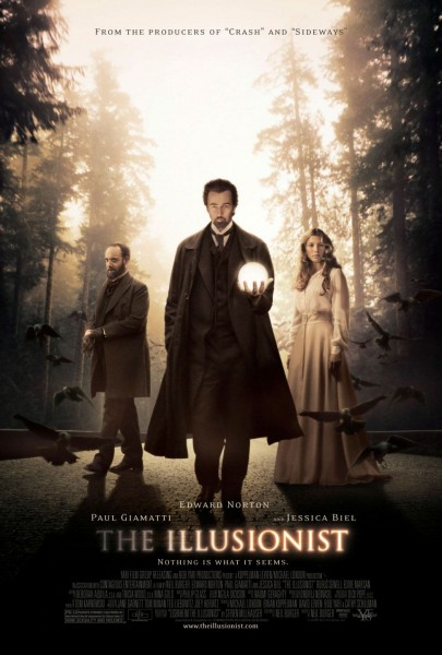 The Illusionist movie font