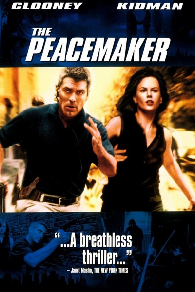 The Peacemaker movie font