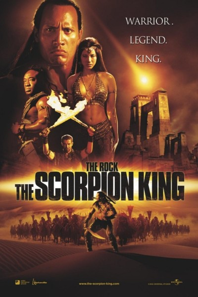 The Scorpion King movie font