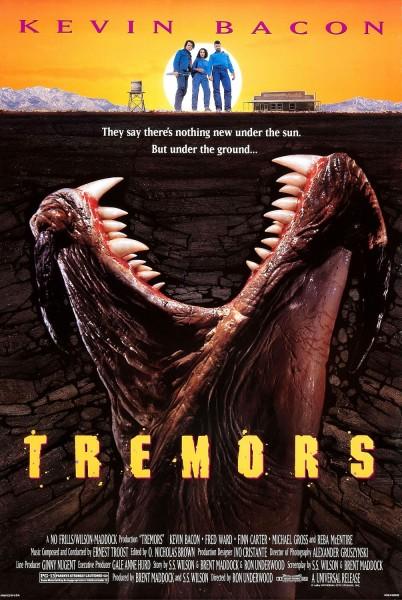 Tremors movie font