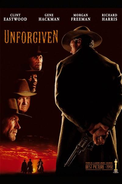 Unforgiven movie font