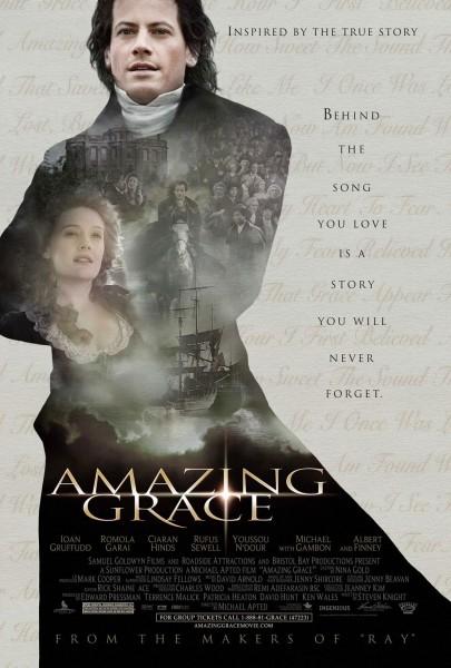 Amazing Grace movie font