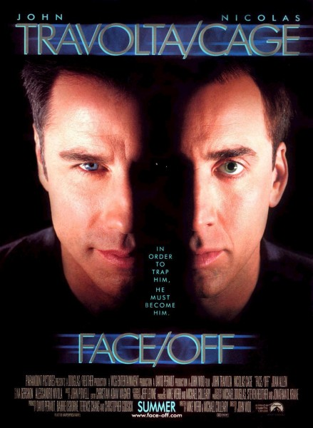 Face/Off movie font