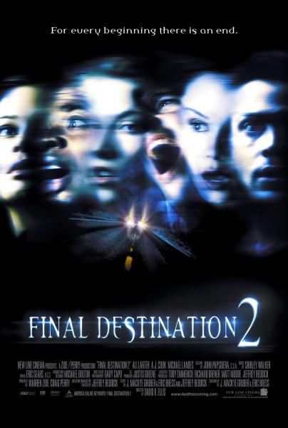 Final Destination 2 movie font