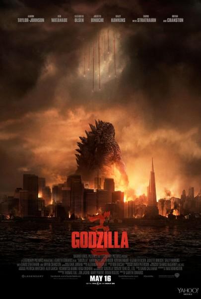 Godzilla movie font