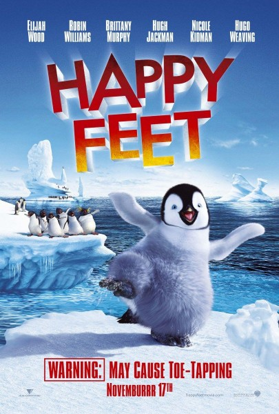 Happy Feet movie font