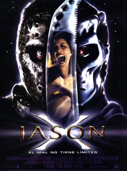 Jason X movie font