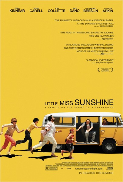 Little Miss Sunshine movie font