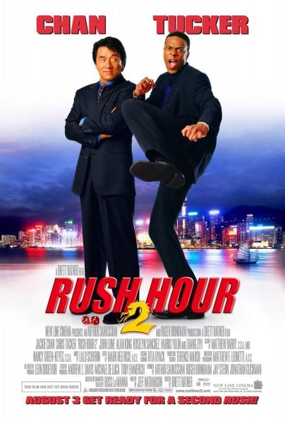 Rush Hour 2 movie font
