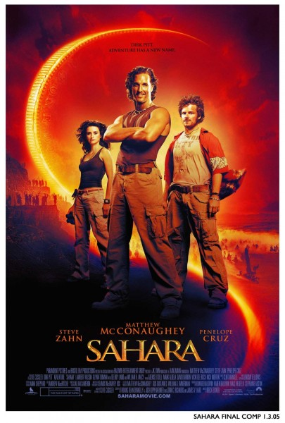 Sahara movie font