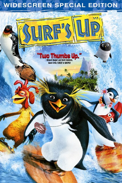Surf's Up movie font