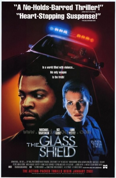 The Glass Shield movie font