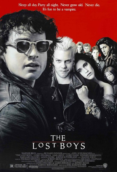 The Lost Boys movie font