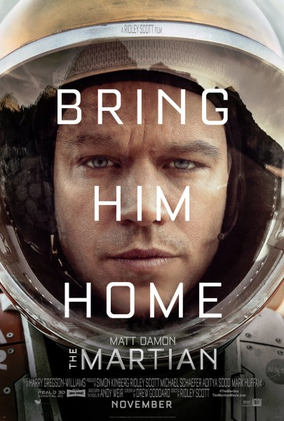 The Martian movie font