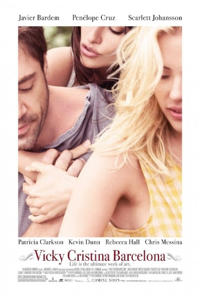 Vicky Cristina Barcelona movie font