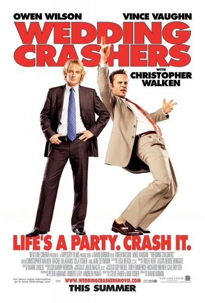 Wedding Crashers movie font