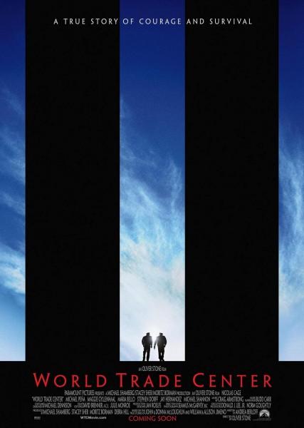 World Trade Center movie font