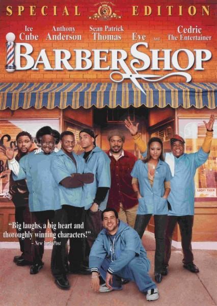 Barbershop movie font
