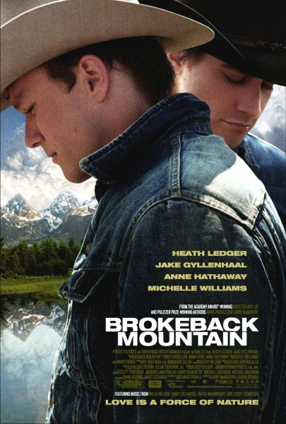 Brokeback Mountain movie font