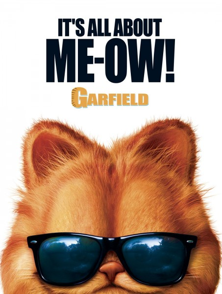 Garfield movie font