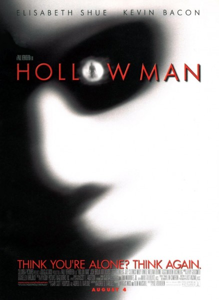 Hollow Man movie font