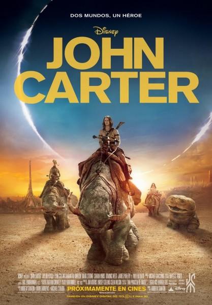 John Carter movie font