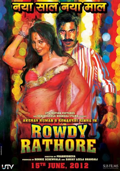 Rowdy Rathore movie font