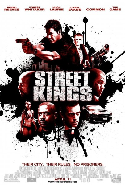 Street Kings movie font