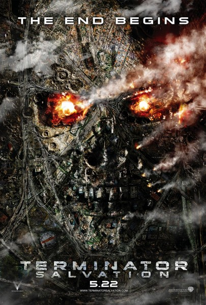 Terminator Salvation movie font