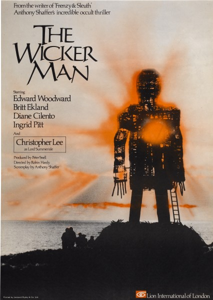 The Wicker Man movie font